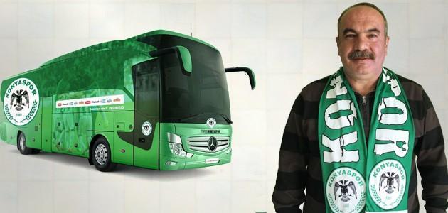 Torku Konyaspor'a Çelikkayalar AVM'nin desteğiyle son model yeni bir otobüs kazandırıldı..